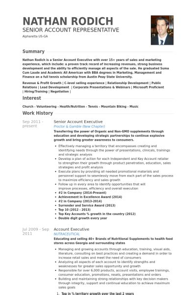 Pr Account Executive Sle Resume by Ejecutivo De Cuentas Senior Ejemplo De Curr 237 Culum Base De Datos De Visualcv Muestras De