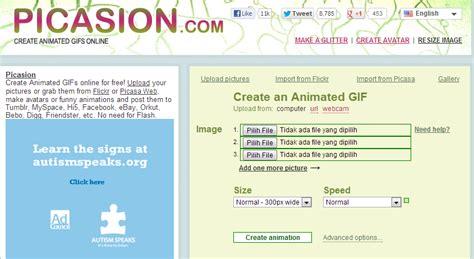 cara membuat gambar gerak online cara membuat gambar gerak gif online ratno gani