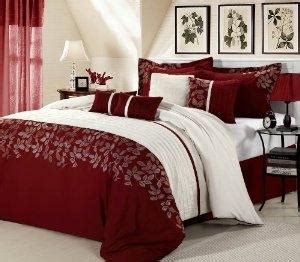 cheap 8 piece comforter set cheap price chic home 8 piece sadie plum comforter set queen