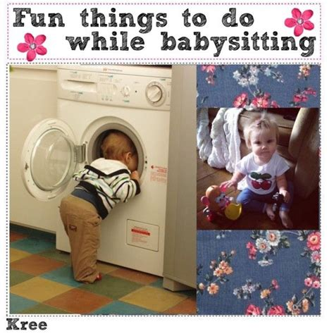 10 Things To Do When Babysitting by Pin By Susie Smith On Projects