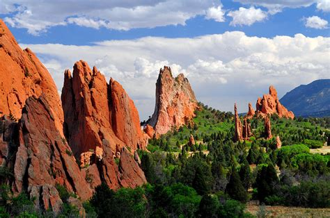 Garden Of The Gods Park by Central Garden Of The Gods Park Photograph By Hoffman