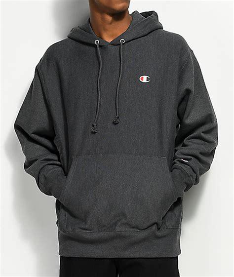 Chion Weave Logo Hoodie chion weave small logo granite hoodie zumiez
