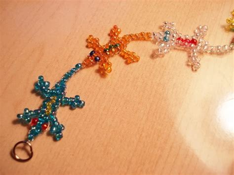 beaded lizard craft beaded critter bracelet beadie critters
