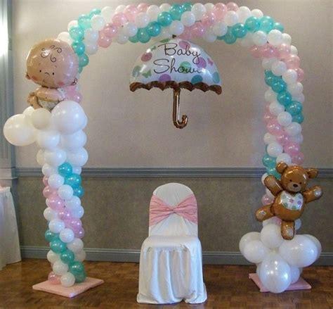 como decorar con globos en un baby shower originales decoraciones con globos para xv a 209 os bodas