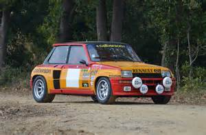 renault 5 turbo racing 1980 renault r5 turbo groupe iv usine calberson