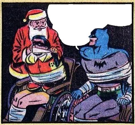 Batman Meme Template - santa meets batman blank template imgflip