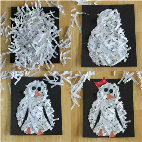 shredded paper crafts monsoon indoor activities for pre schoolers and