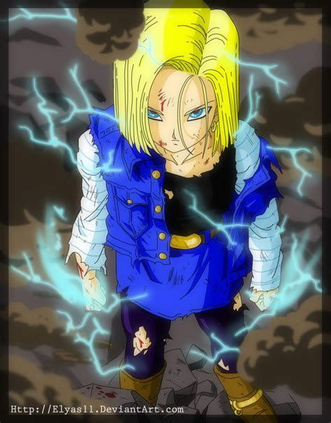 deviantart wallpaper anime android future android 18 by elyas11 on deviantart