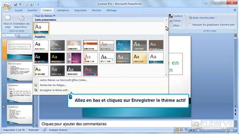 Comment Cr 233 Er Un Th 232 Me Avec Powerpoint 2007 Youtube Themes In Powerpoint 2007