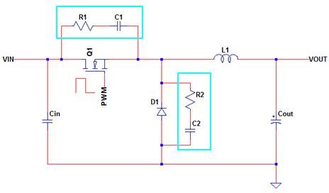 rc snubber capacitor snubber circuit design
