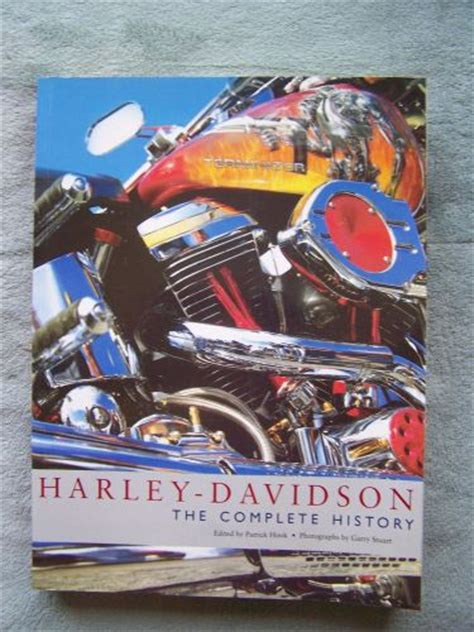 Harley Davidson History Book by Buy Harley Davidson The Complete History A 448 Page Book