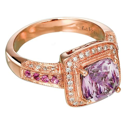 Strawberry Card Gold le vian 14ct strawberry gold 0 20ct amethyst