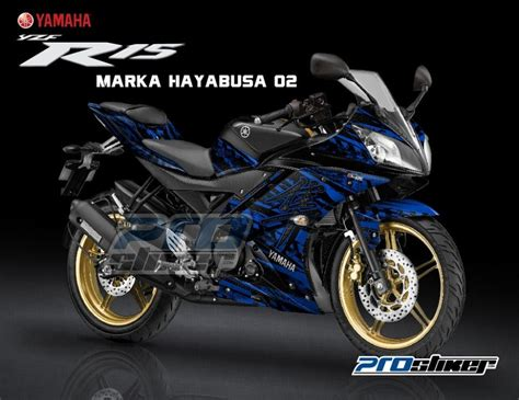 Sticker Striping Motor Stiker Yamaha Jupiter Mx Biru Spec A 1 pin mio sporty black on