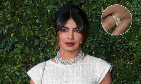 video of priyanka chopra engagement priyanka chopra shows off enormous engagement ring for the