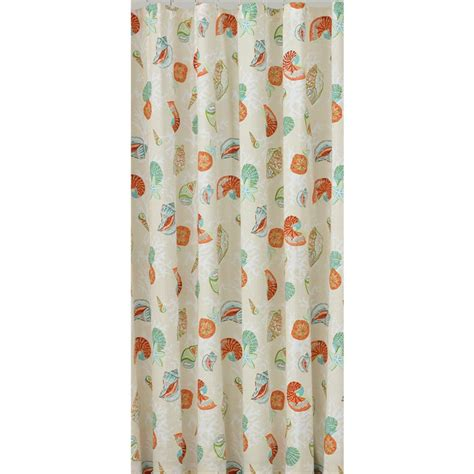 Seashell Shower Curtains Seashell Shower Curtain 28 Images Plus Picture Frames Seashell Design Fabric Printed