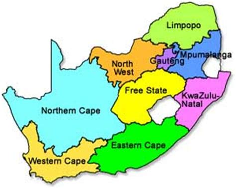 south africa map provinces south safaris swartwater accommodation