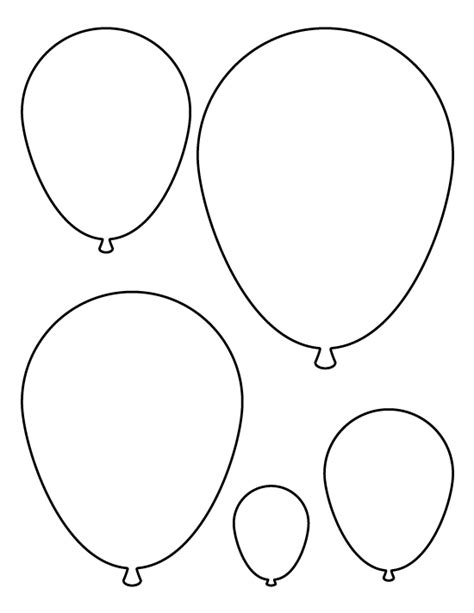 more pages templates balloons pattern use the printable pattern for crafts