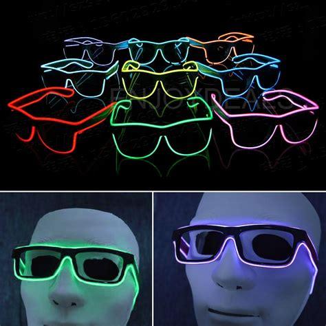 Kacamata Dj Glow Led Murah kacamata dj glow led blue jakartanotebook