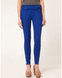 Jegging Paulsmith river island blue jegging in blue lyst