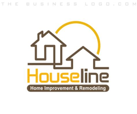 home remodeling logo design home improvement remodeling and household logos