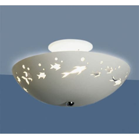 Fish Ceiling Light 13 5 Quot Frolicking Fish Ceiling Light Fixtures Fabby Fabby