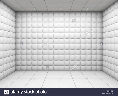 Padded Room by White Mental Hospital Padded Room Empty With Copy Space
