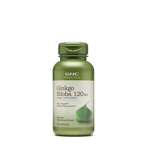 Gnc Herbal Plus Standardized Ginkgo Biloba 120mg 60 ginkgo biloba usa