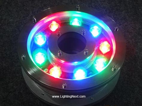 submersible led light ring 12w led pond light ring submersible spotlight