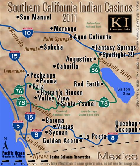 casinos southern california map rincon grand opening pictures san diego harrah s rincon