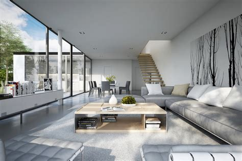 Modern Living Rooms | 25 modern living rooms with cool clean lines