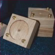 desk riser height adjustment t blocks set of 4 x 25mm