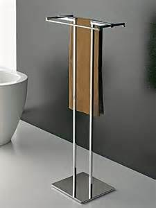freestanding towel bar free standing towel stand with chrome base contemporary