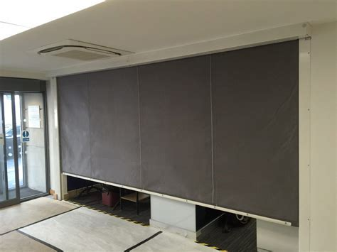 Fire Curtain Installation, North London   Westwood