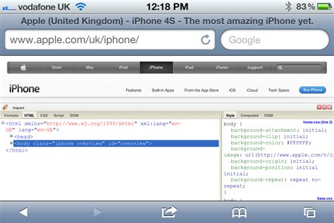 firebug console firebug for ios bookmarklet adds a firebug console to ios