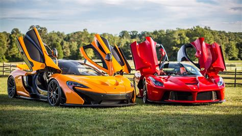 Which one is better?McLaren P1 or Ferrari LaFerrari?
