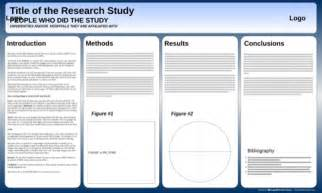 powerpoint research template powerpoint poster templates for excel pdf and word