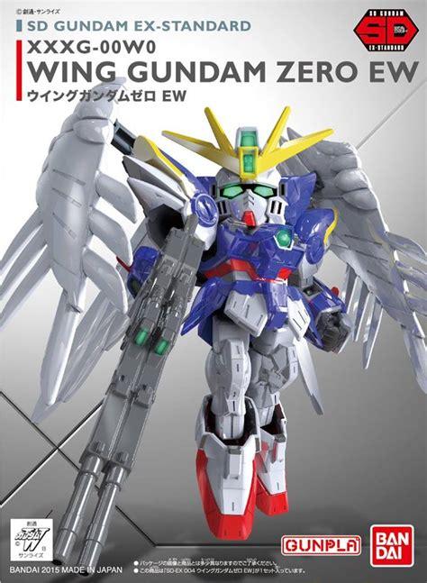 Mainan D Model Sd Zero Gundam sd ex standard wing gundam zero ew bandai gundam models kits premium shop bandai