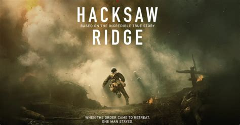 free quot hacksaw ridge quot screening on 11 1 select