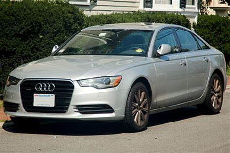 Audi A6 Unfallwagen by Vw Recalls