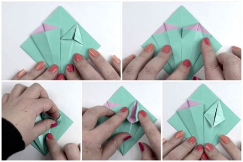 How To Make Paper Boutonniere - how to make an easy origami flower