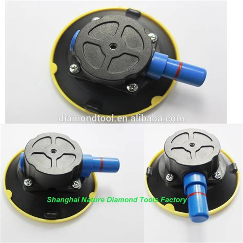 Hand Pump Suction Cup Durable Pad Sucking Disc Pump Action