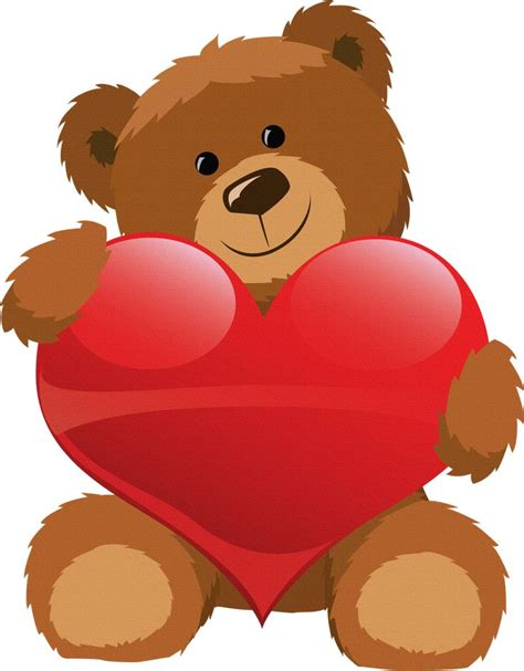 imagenes de un corazones best 25 oso con corazon ideas on pinterest un abrazo de
