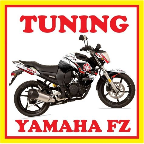 Sticker Tuning Para Motos by Tuning Motos Yamaha Fz16 Monster Rockstar Fox Stickers