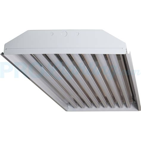 8 Led Light Fixture Techbrite B4208ssumxx 18w5k 8 Light T8 Led High Bay Fixture 5000k 18 000 Lumens 125 Lm W