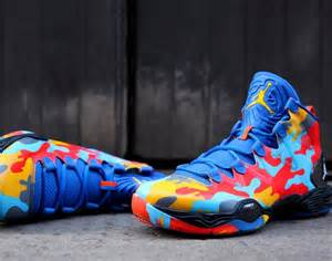 colorful jordans flashy and colorful air xx8 se