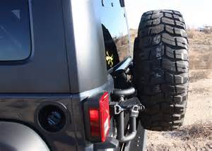 Jeep Jk Spare Tire Carrier New Or Fab Swing Away Tire Carrier 07 12 Wrangler Jk Spare