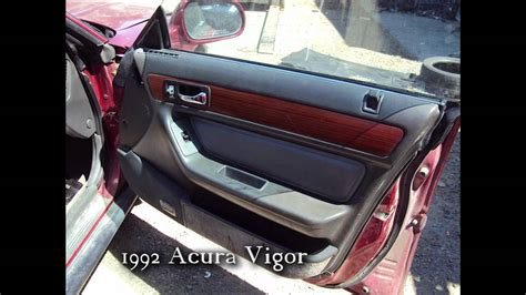 service and repair manuals 1992 acura vigor instrument cluster remove dash in a 1992 acura vigor service manual bottom panel removal 1992 acura vigor