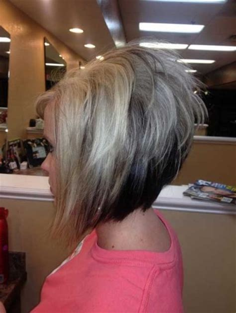 show pictures of a haircut called a stacked bob the elegant and stunning stacked bob haircut images