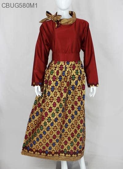 gamis pita motif songket gamis batik murah batikunik