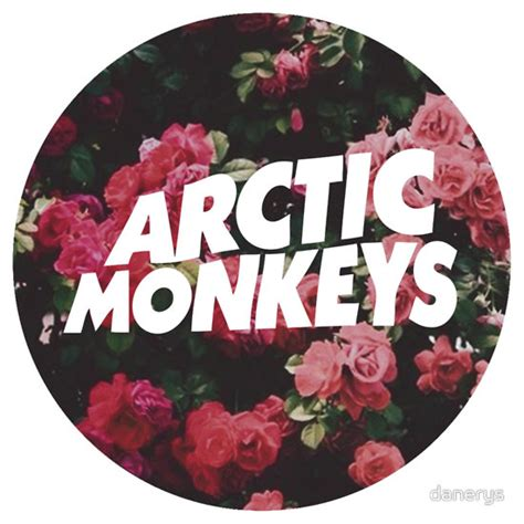 T Shirt Artic Monkey 5 Colors quot arctic monkeys floral logo quot t shirts hoodies by danerys